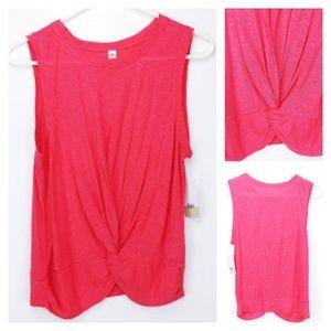 BP coral sleeveless top